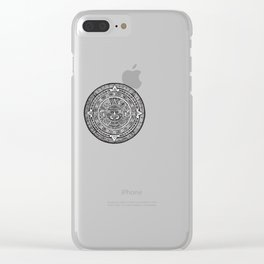 Aztec Roots Clear iPhone Case