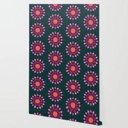 MCM Hydrangea Wallpaper