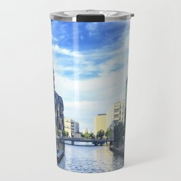 Reflection on Reflection Travel Mug