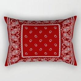 Classic Maroon Badana Rectangular Pillow