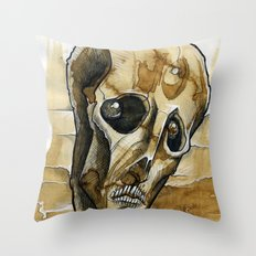 dead head Throw Pillow