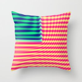 Quantum USA Throw Pillow