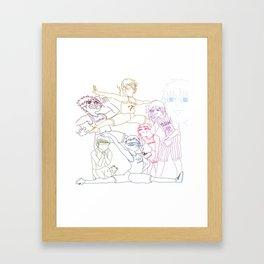 KuroDorks Framed Art Print