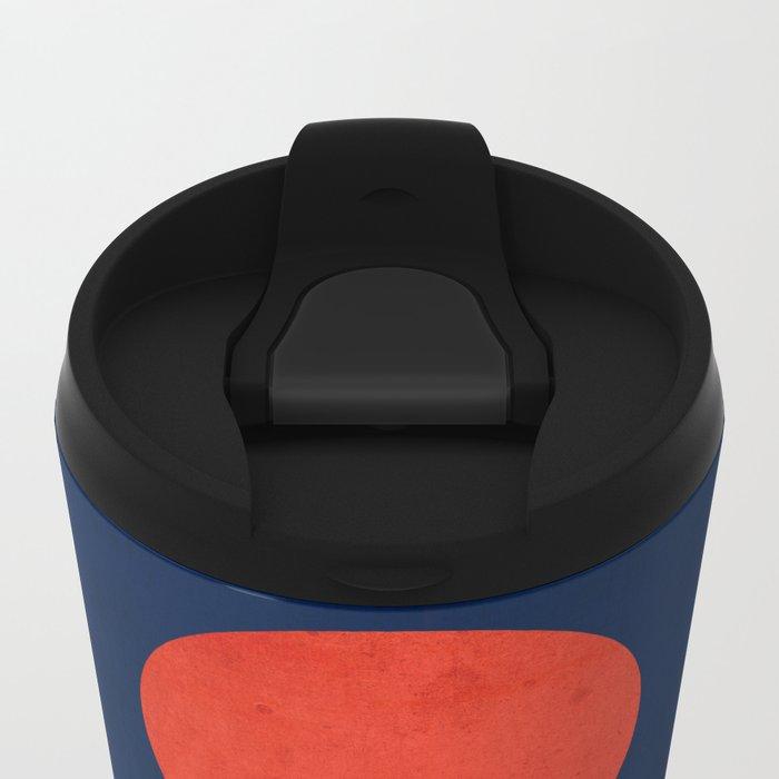 World's Edge Metal Travel Mug