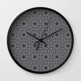Sharkskin Lace Wall Clock