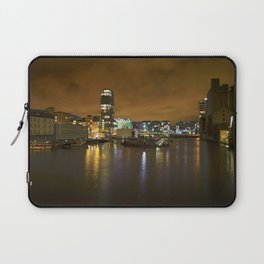 Reflections II - Grand Canal Dock Laptop Sleeve
