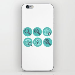 Let Us Search The Internet iPhone Skin