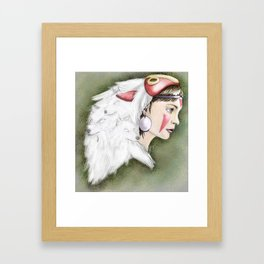 san Framed Art Print
