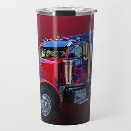 American Truck Red Travel Mug