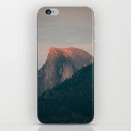 Half Dome Sunset in Yosemite iPhone Skin