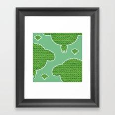 Wooly Sheep - 2 Framed Art Print