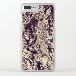 Tree Bark 2.0 Clear iPhone Case