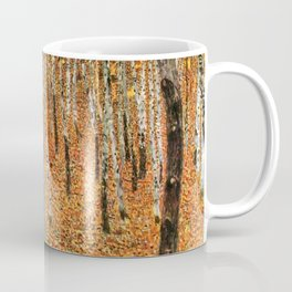 Gustav Klimt Beech Grove Coffee Mug
