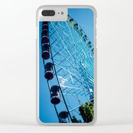 Texas Star, Texas State Fair, Ferris Wheel, Dallas Clear iPhone Case