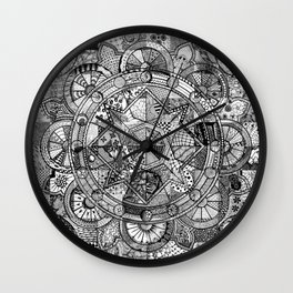 Mandala 4 Wall Clock