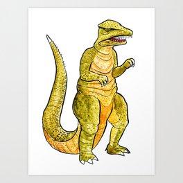 Gorosaurus Art Print