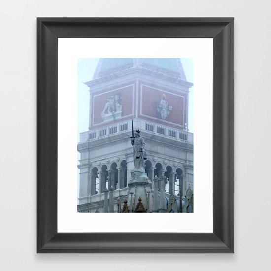 Justice on St Mark's Square Framed Art Print