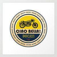 ducati Art Prints featuring Ducati by Liviu Antonescu