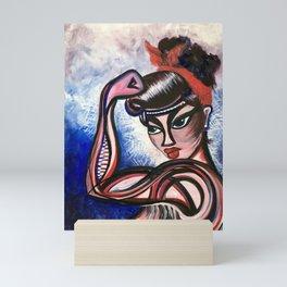 Feminista Mini Art Print