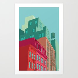 Mulberry street SOHO NYC Art Print