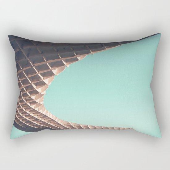 Waffle or not? Rectangular Pillow