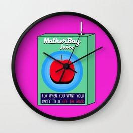 MotherBoy Juice Box Wall Clock