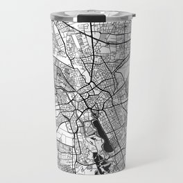 Hanover Map Gray Travel Mug
