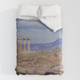 Ancient Corinth Comforters
