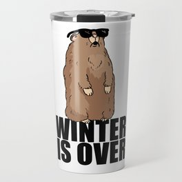 Marmot Summer Winter Spring Cool Gift Travel Mug