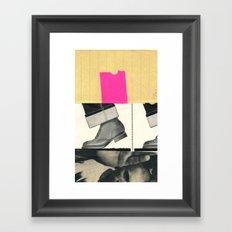 Fairy Boots Framed Art Print