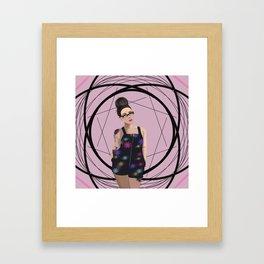 Feeling Floral Framed Art Print