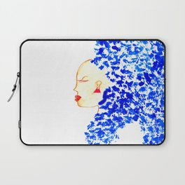 Blue Cleopatra Laptop Sleeve
