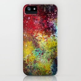 Dark Rainbow iPhone Case
