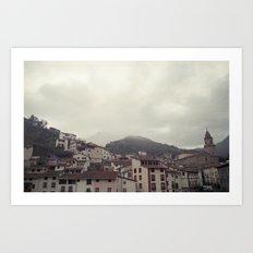 Sorto, Spain Art Print