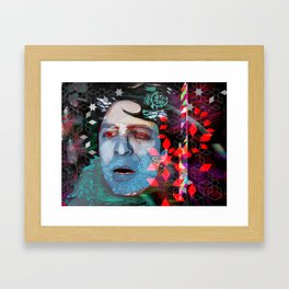 Expression in a voice Framed Art Print