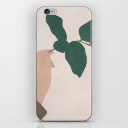 Holding the Branch iPhone Skin