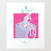 Love of Sound Art Print