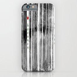 Mirror of nature iPhone Case