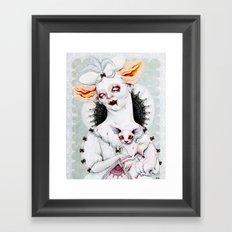 Zombie Queen Framed Art Print