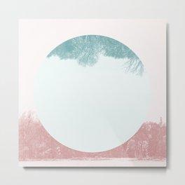 Treeset Metal Print