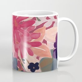 Mulberry Blooms Coffee Mug
