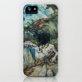 Leda and the Swan? iPhone Case