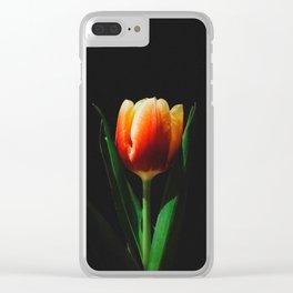 Tulip Spotlight Clear iPhone Case