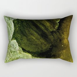 The Mystery and Legends of Ancient Caves Rectangular Pillow