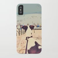 bowie iPhone & iPod Cases featuring Bowie by Jess Marie