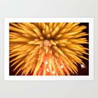 philippines Art Prints featuring Fireworks - Philippines 8 by David Johnson