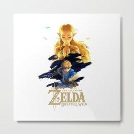 Zelda Breath of the Wild - The Silent Princess Metal Print