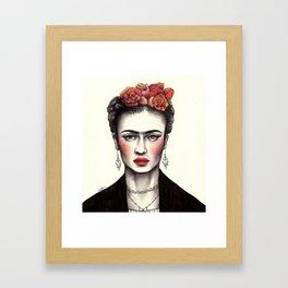 Bohemian Frida Framed Art Print