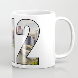 412 (Pittsburgh Area Code) Coffee Mug