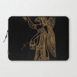 Ancient Bird Man Laptop Sleeve